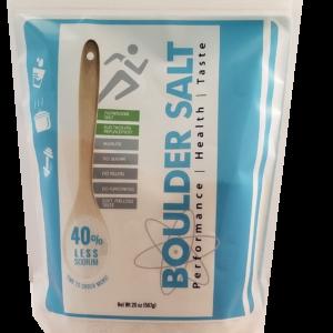 20 Oz Resealable Bag of Healthy Salt | Boulder Salt Company