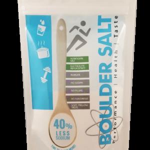 8 Oz Resealable Bag of Healthy Salt | Boulder Salt Company