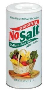 ImageOfNoSaltContainer Helps answer Is NoSalt a healthy salt alternative