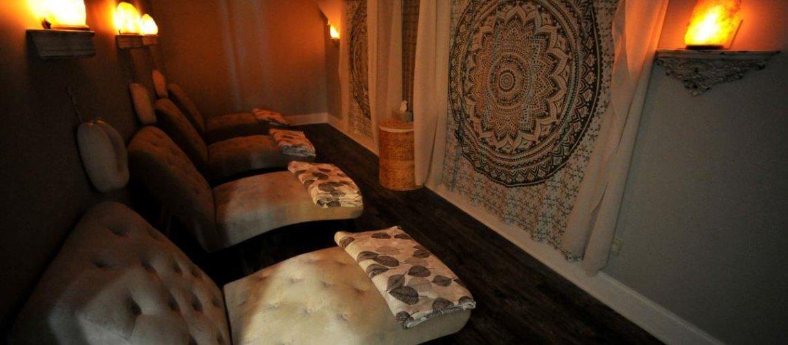 Lafayette Salt Cave Room